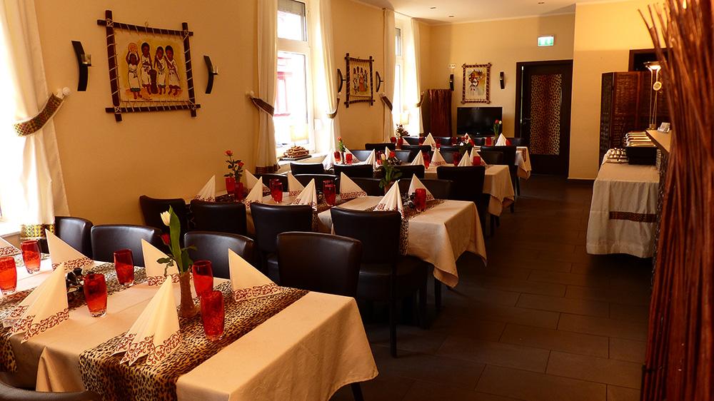 Afrikanisches Restaurant Frankfurt - Innen